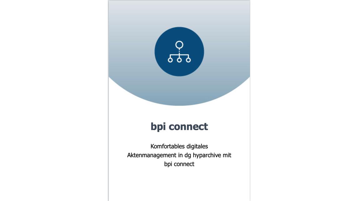 Logo bpi connect for SAP