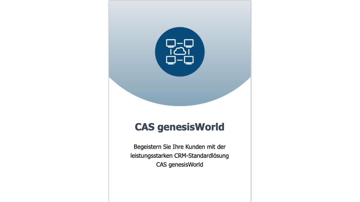 Logo bpi und CAS genesisWorld