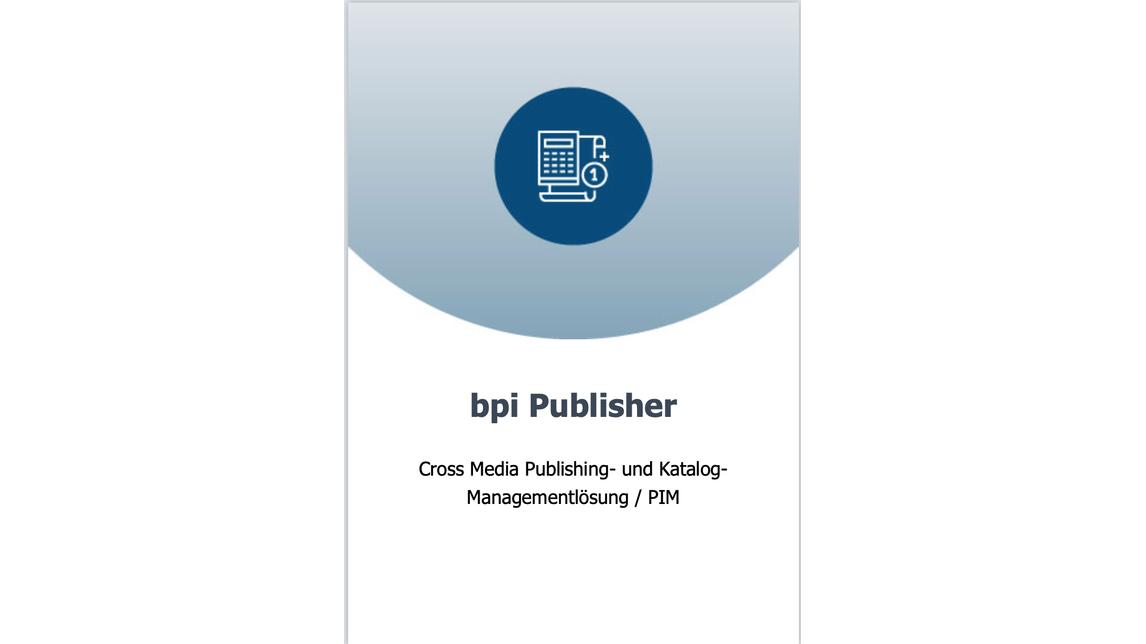 Logo Katalogmanagement  / PIM