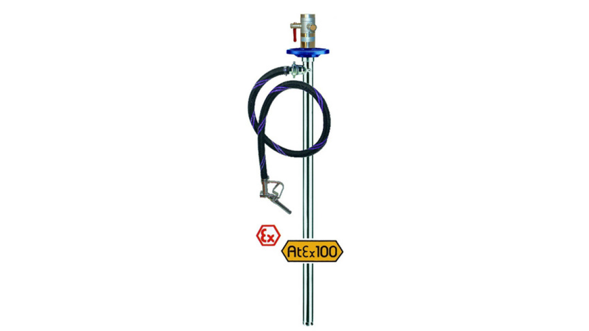 Logo Barrel pump