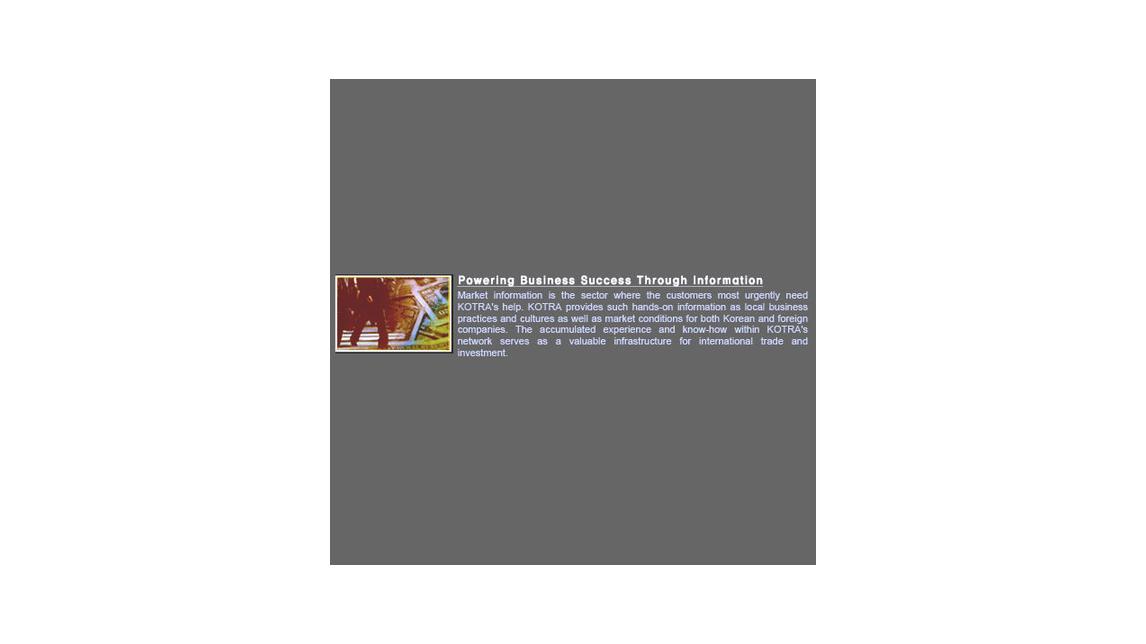 Logo Powering Business Success Through Information
