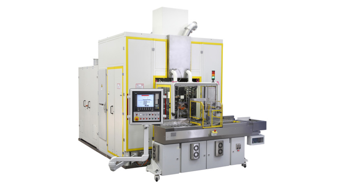 Logo Test and Production Machines