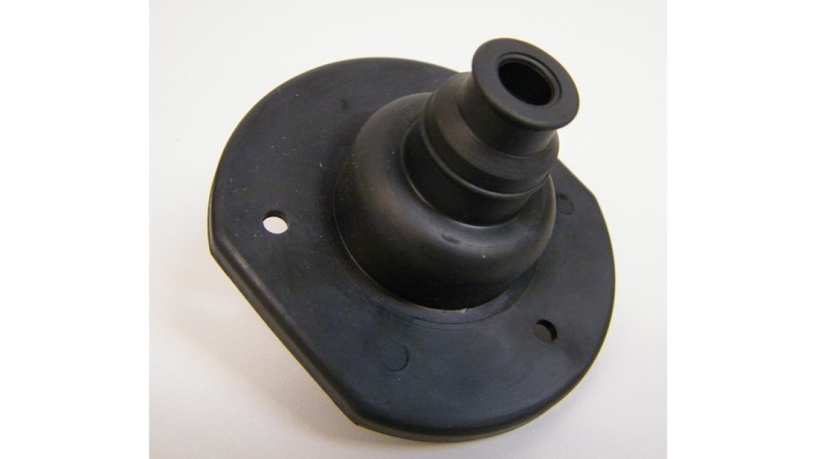 Logo Injection moulded parts made by rubber.
