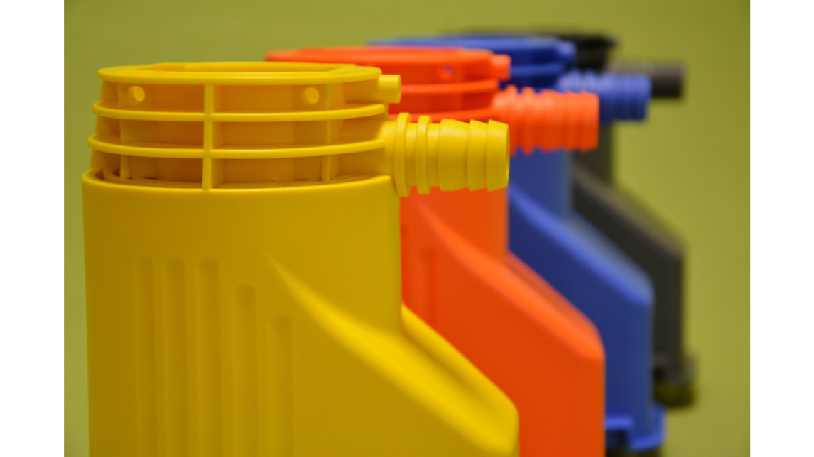 Logo Injection moulded parts made from thermoplastics
