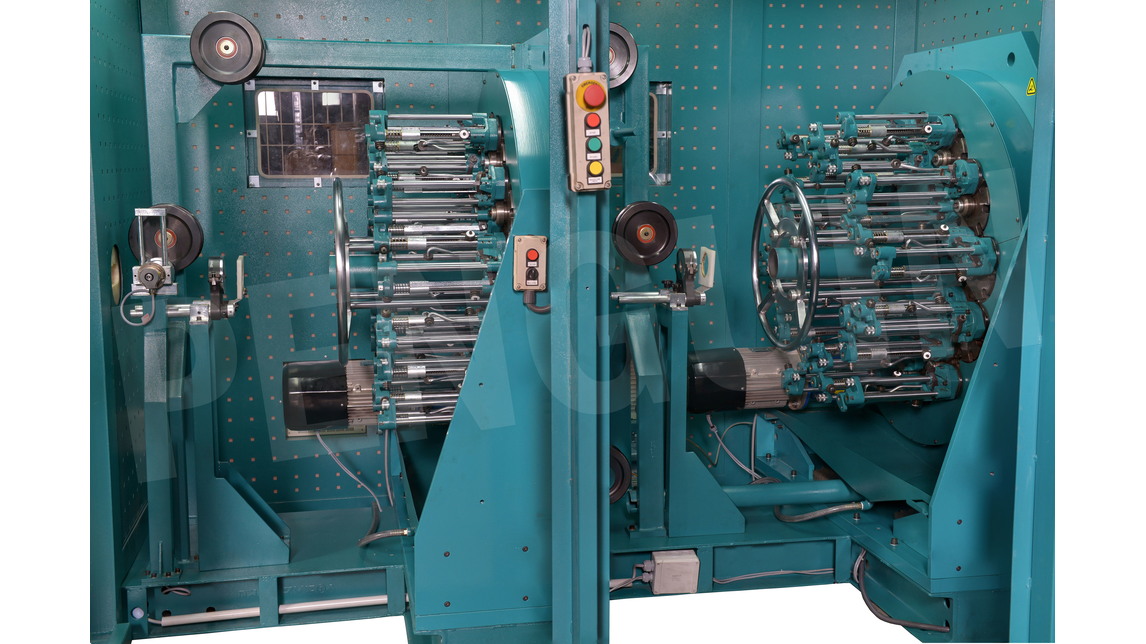 Logo Wire Braiding Machine