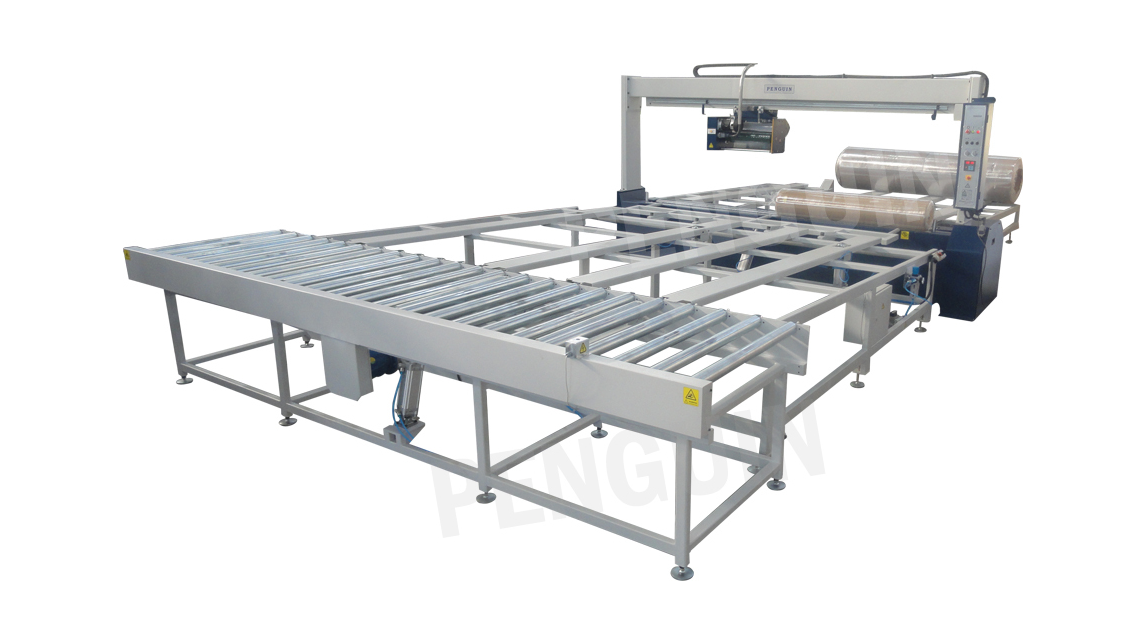 Logo FABRIC ROLL WRAPPING MACHINE