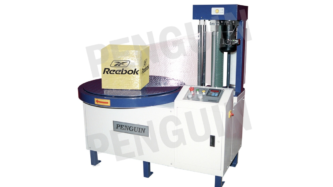 Logo CARTON BOX STRETCH WRAPPING MACHINE
