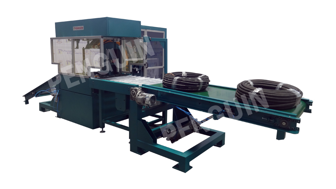 Logo Coil Wrapping Machine