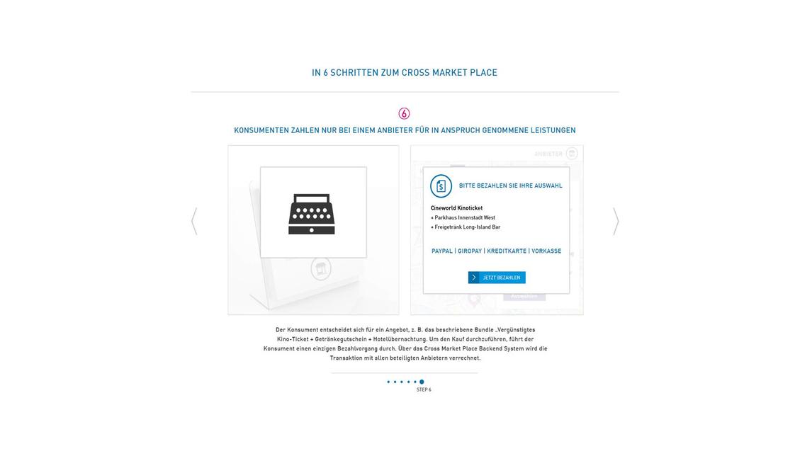 Logo Cross Market Solutions mit bill-X