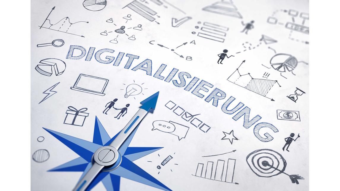 Logo Digitalisierungslotse für sächsische KMU