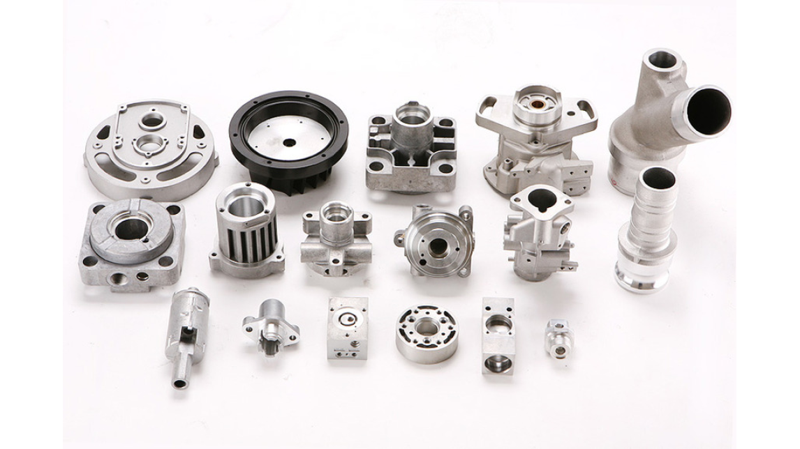 Logo Hydraulic Cylinder aluminum die casting components