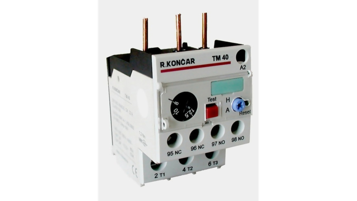Logo Thermal Overload Relays type TM and TRM