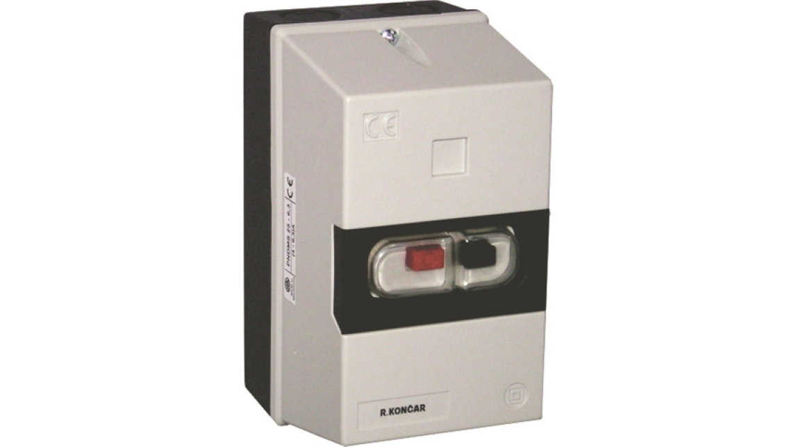 Logo Motor protection circuit breakers DMS