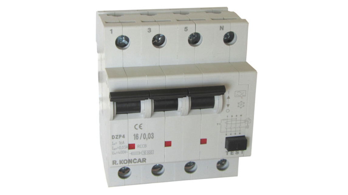 Logo Miniature circuit breakers type IZP