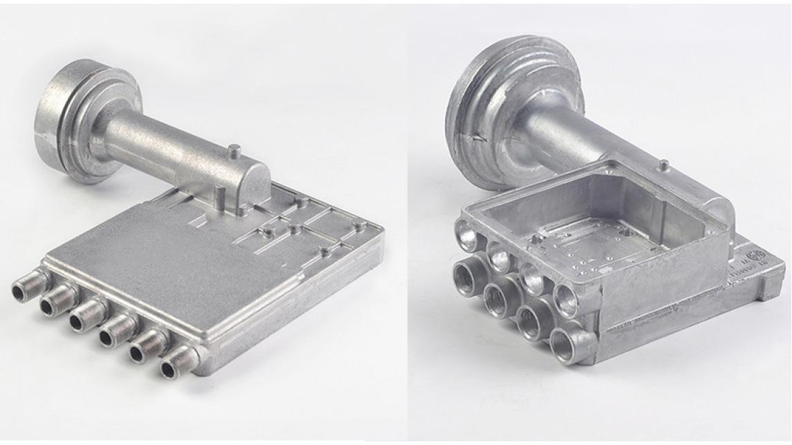Logo Alumunium alloy die casting parts