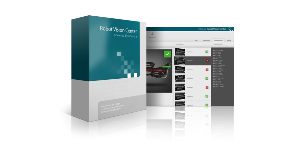 Logo Robot Vision Center Software