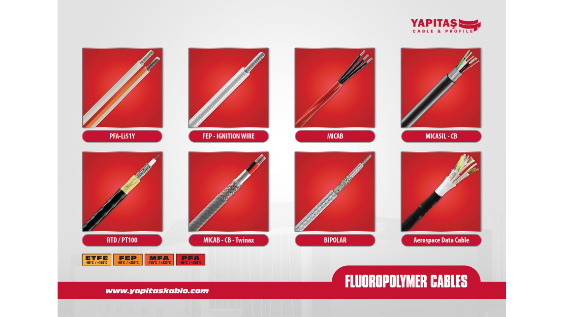 Logo FLUOROPOLYMER CABLES