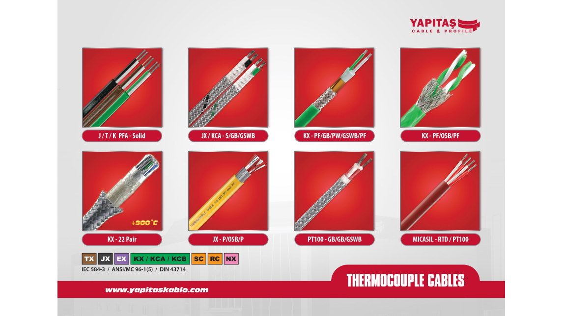 Logo THERMOCOUPLE CABLES