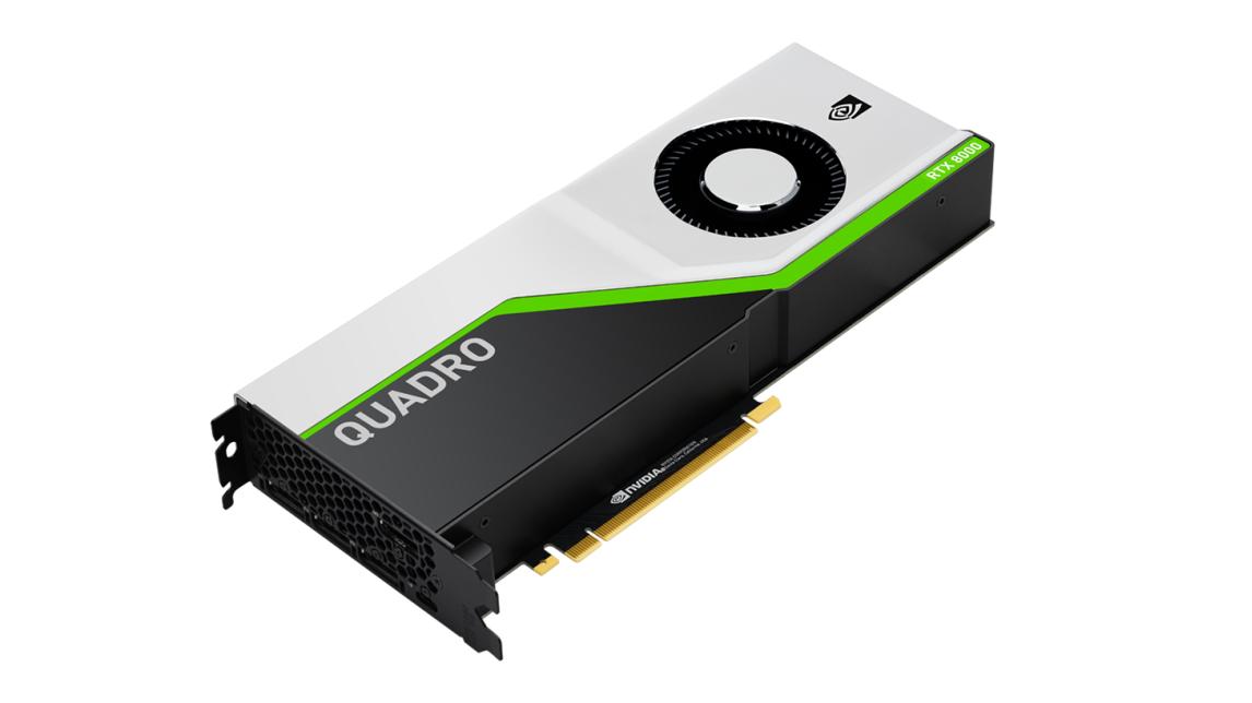 Logo NVIDIA Quadro RTX 8000