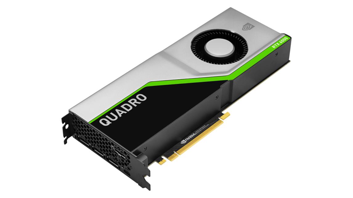 Logo NVIDIA Quadro RTX 6000