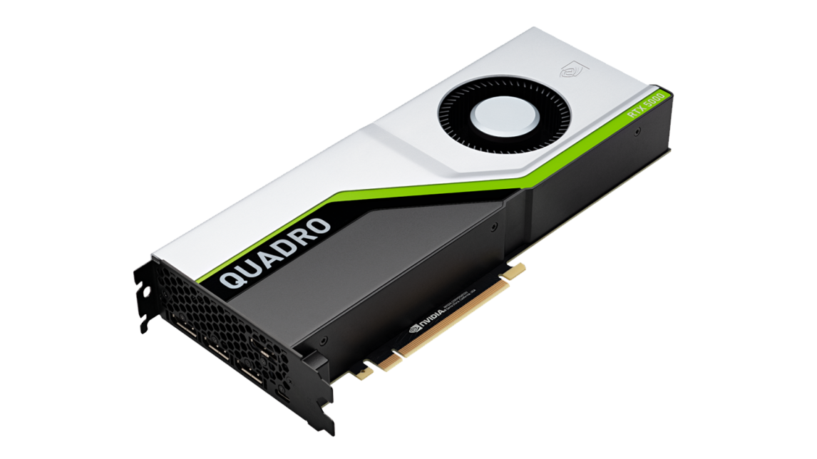 Logo NVIDIA Quadro RTX 5000