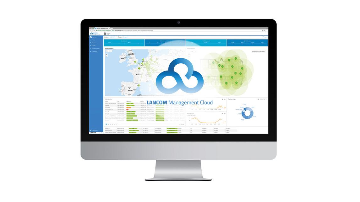 Logo LANCOM Mangment Cloud