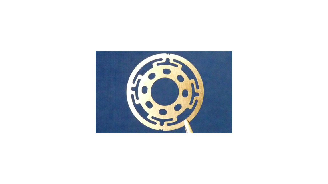 Logo Contour-etched parts - precision springs