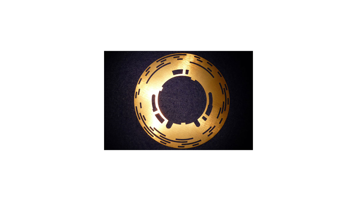 Logo Contour-etched parts