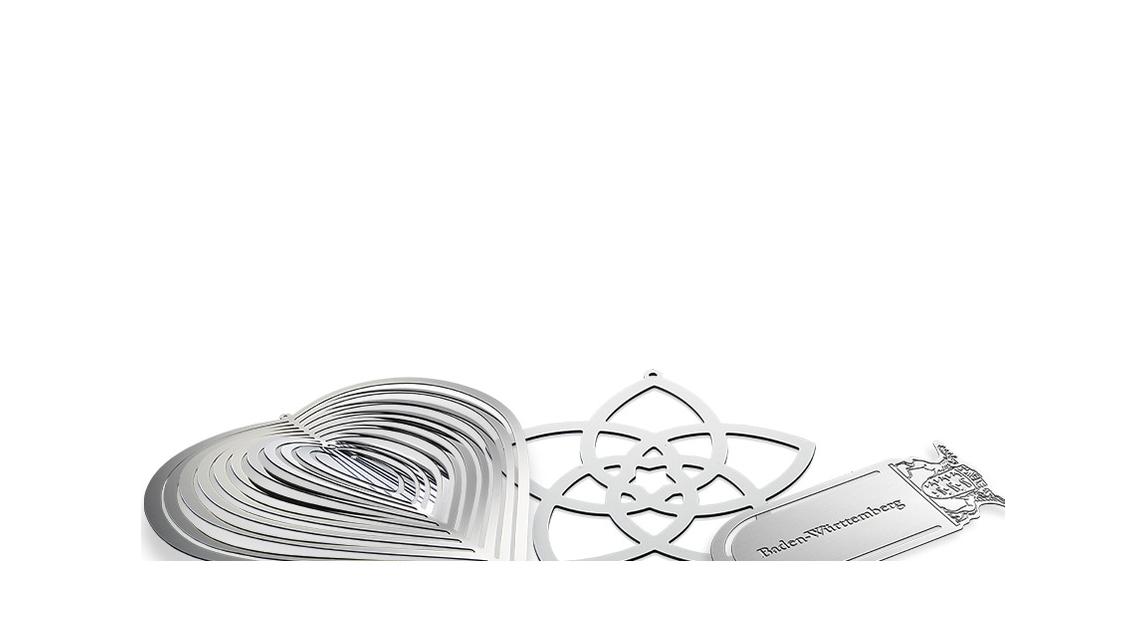 Logo Contour-etched parts - design