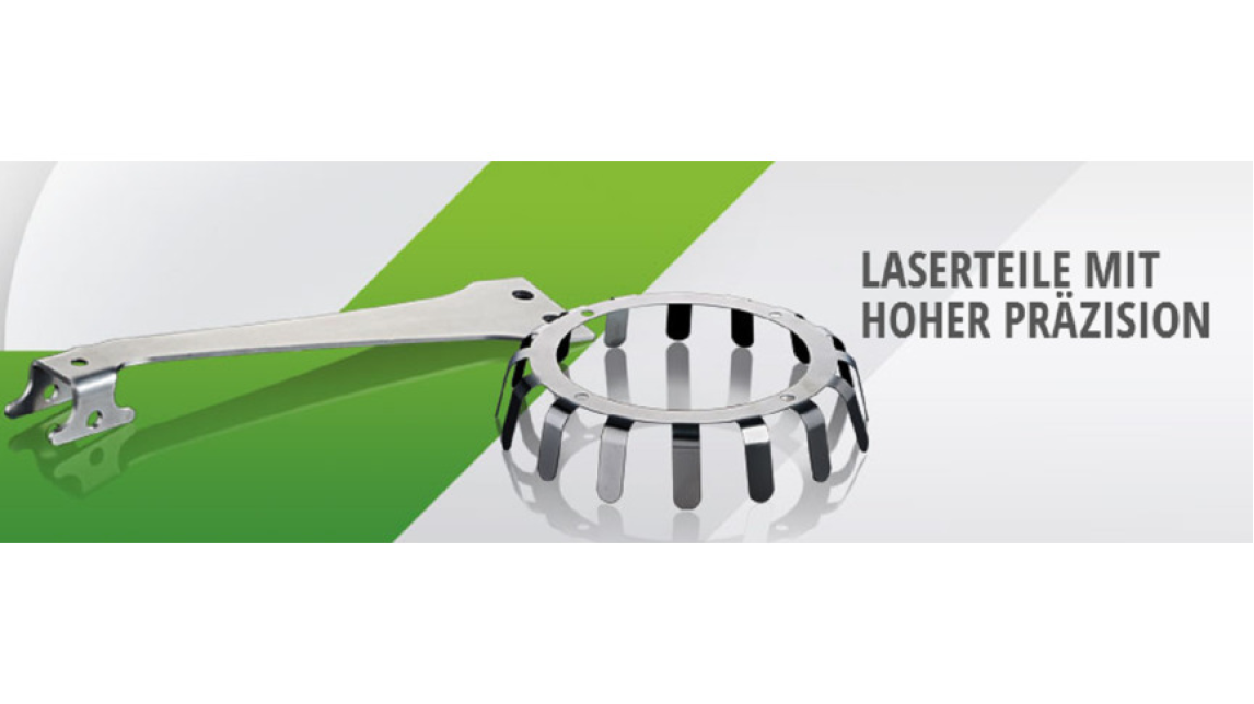 Logo Laser parts with high precision