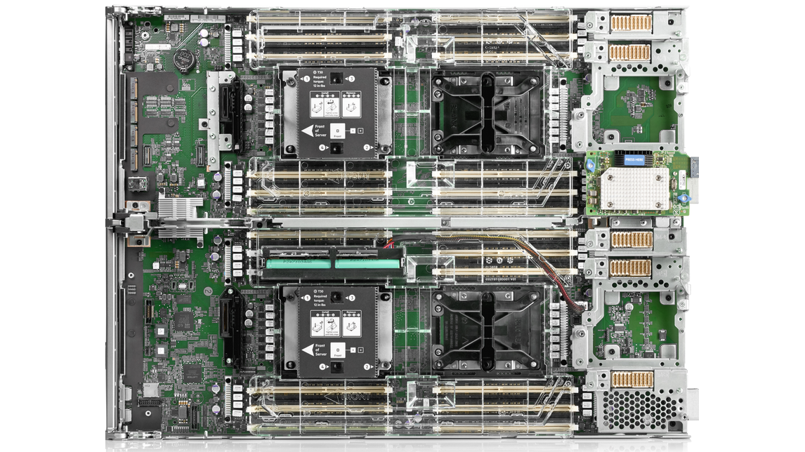 HPE Synergy 660 Gen10 Compute Module - Product - HANNOVER MESSE 2019