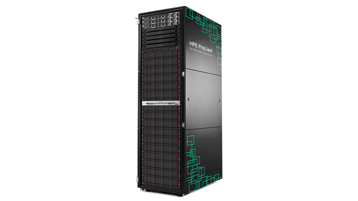Logo HPE ProLiant for Microsoft Azure Stack