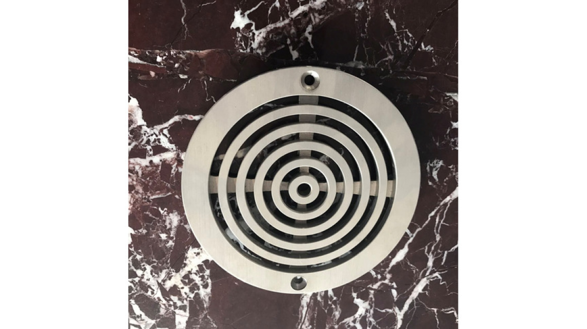 Logo Floor Drain Part