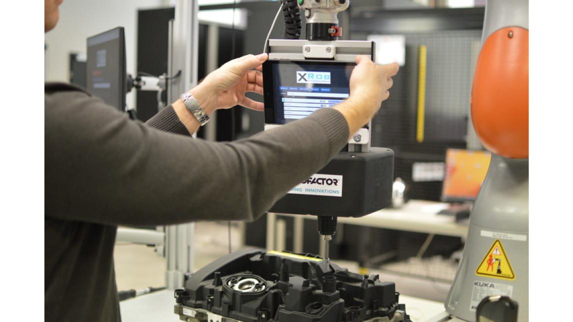 Logo XRob: Roboterprozesse einfach erstellen