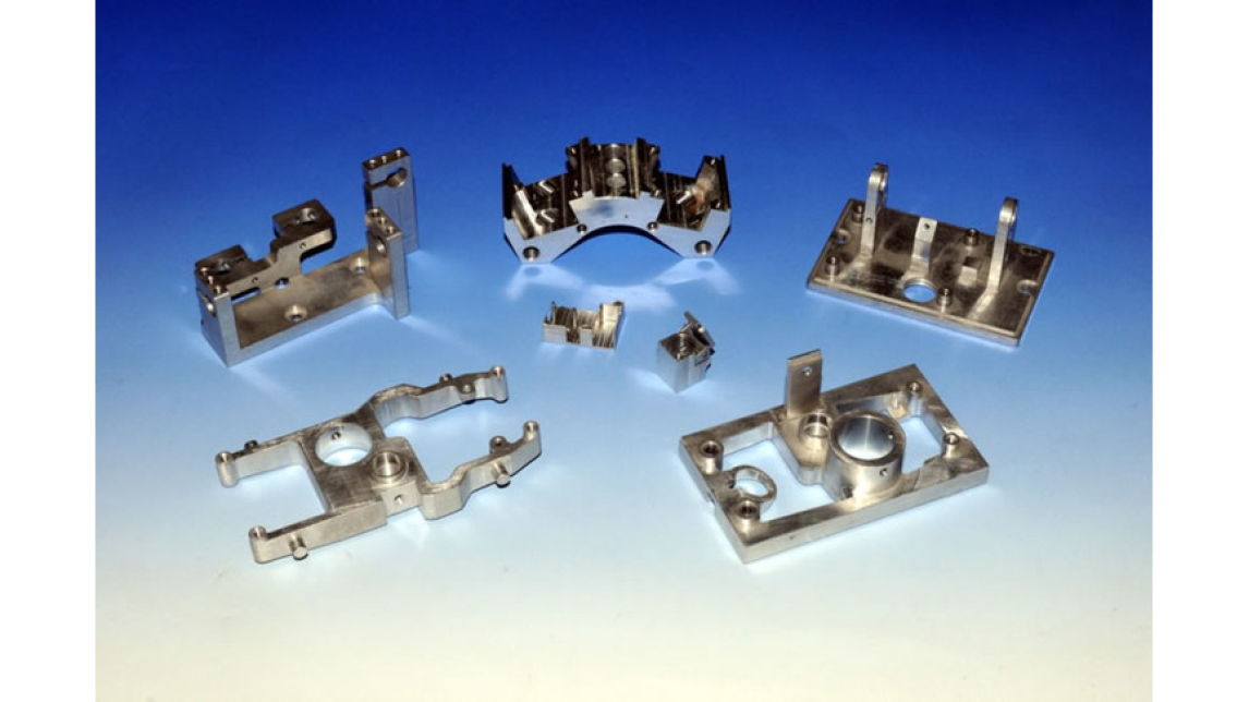 Logo CNC milled parts, Precision milled parts