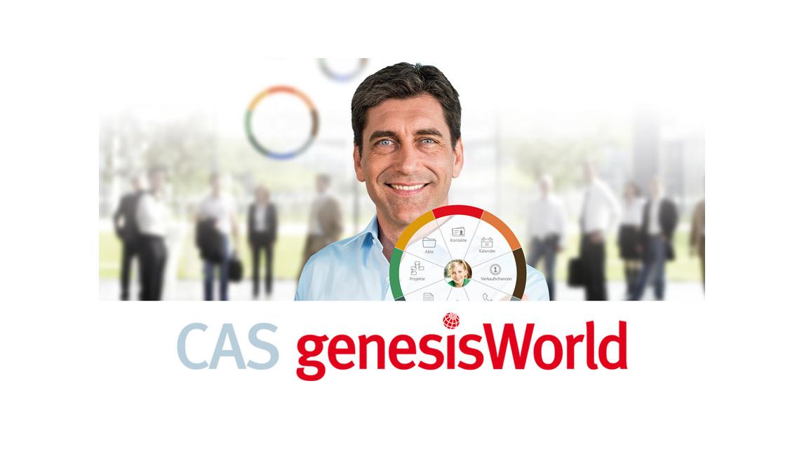 Logo CAS genesisWorld - CRM / xRM