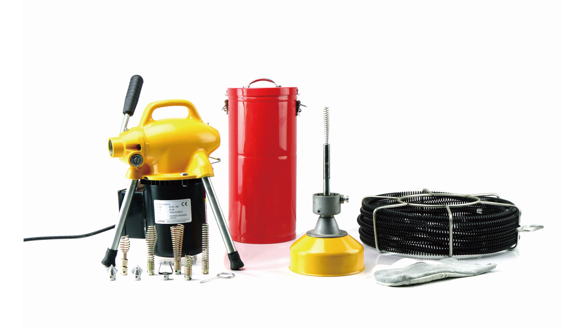 Logo A75 Drain Cleaning Machine
