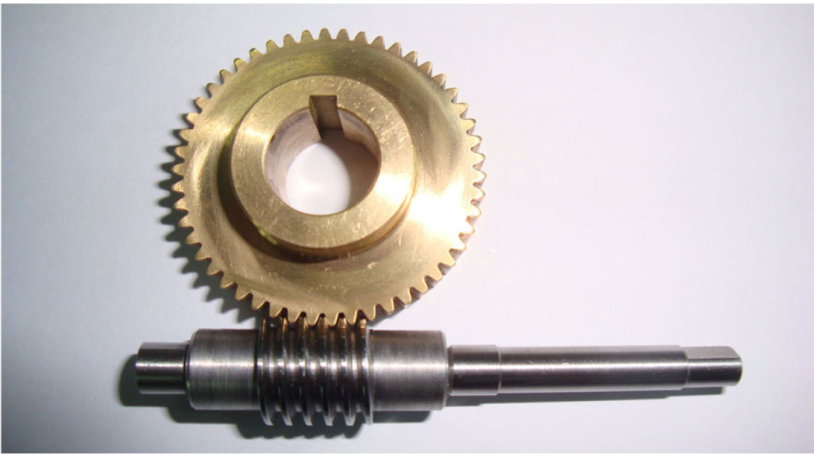 Logo worm and worm gear