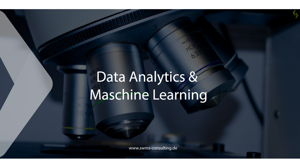 Logo Data Analytics & Machine Learning