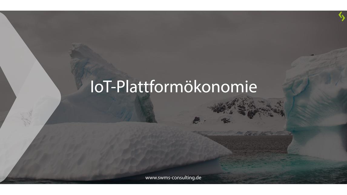 Logo IoT-Plattformökonomie