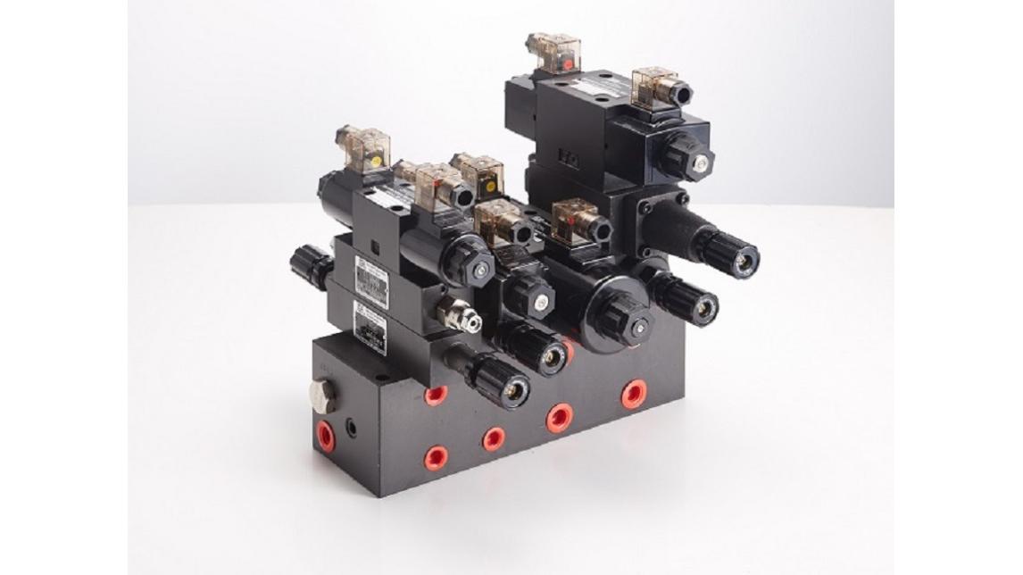 Logo Modular block systems; hydraulic
