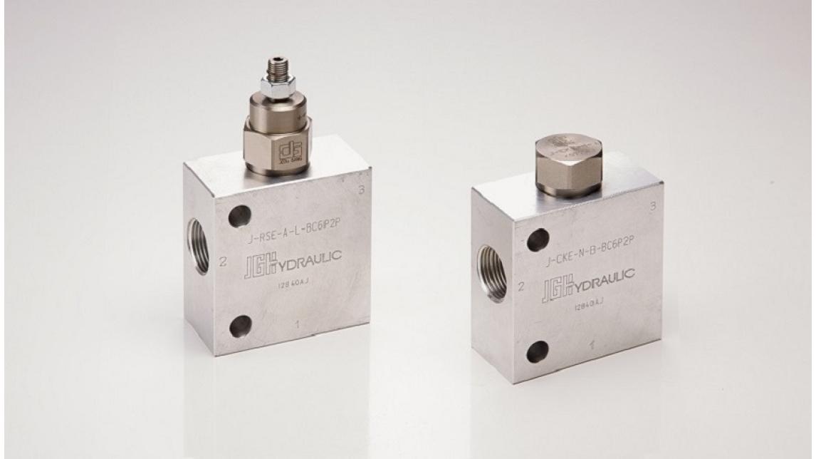 Logo Flow control valves; hydraulic