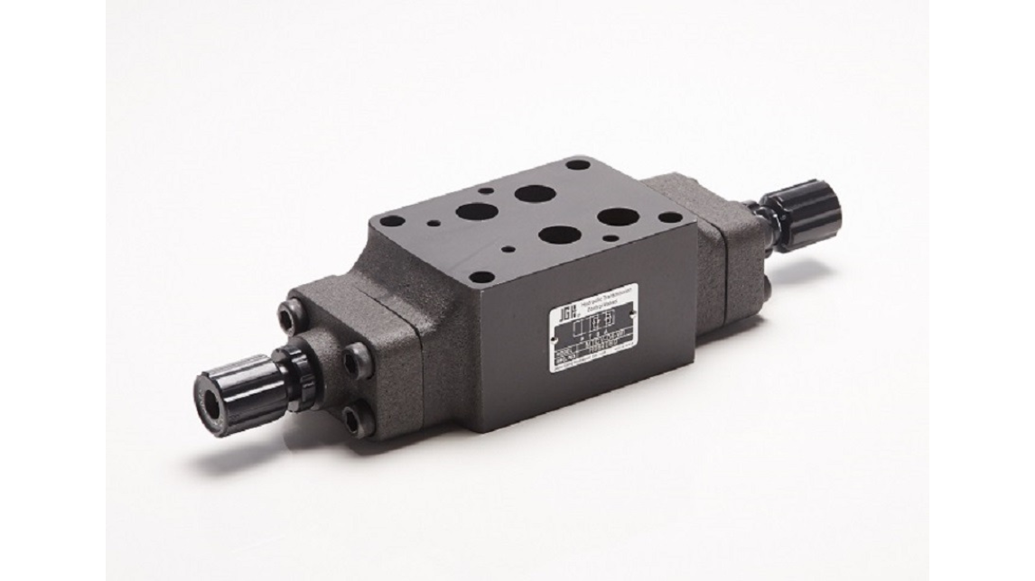Logo Pressure control valves; hydraulic