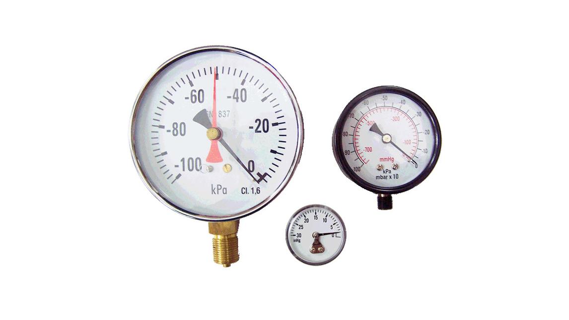 Logo Vacuum Pressure Gauge
