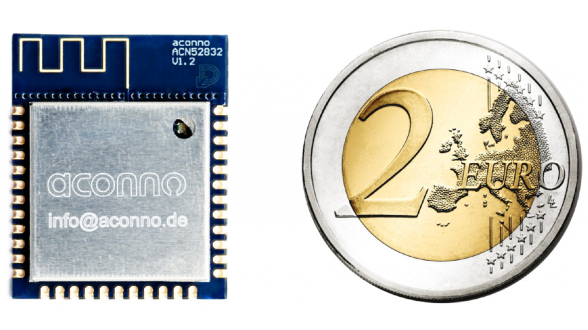 Logo aconno ACN52832 Bluetooth Smart Module
