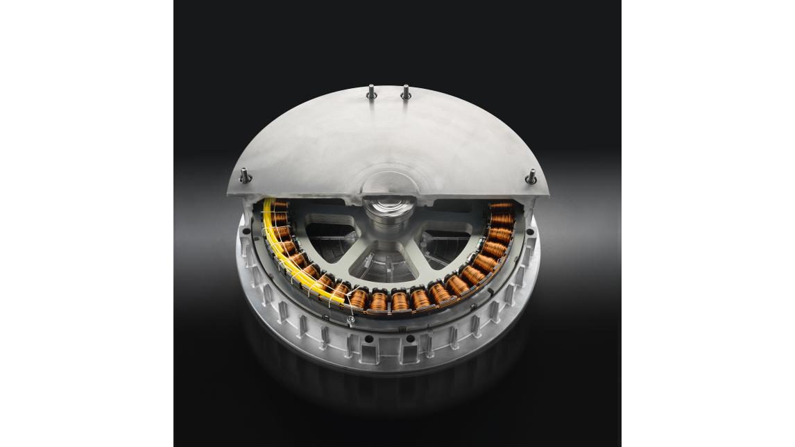 Logo Direct drive brushless motor