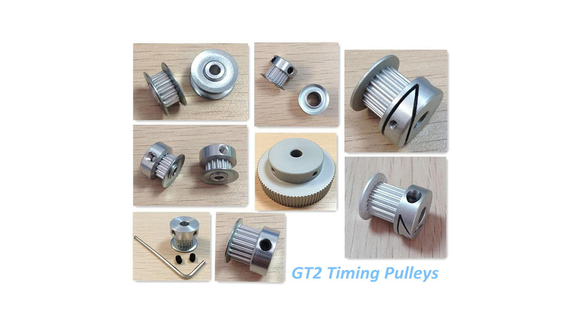 Logo 3D Printer Pulley GT2 Pulleys