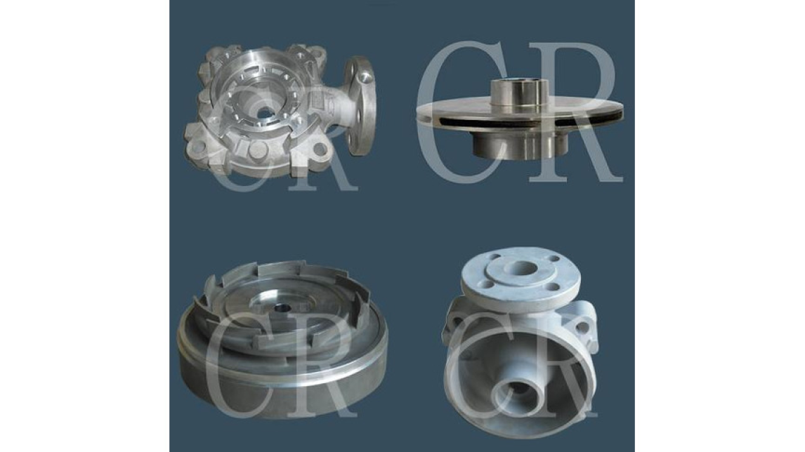 Logo Impeller, Pump body, Pump parts, Valve body parts, investment casting