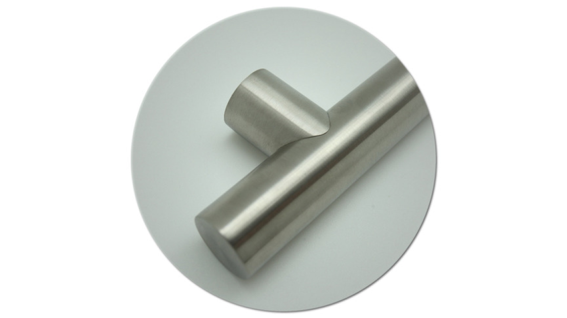 Logo Steel, stainless steel, aluminium handle