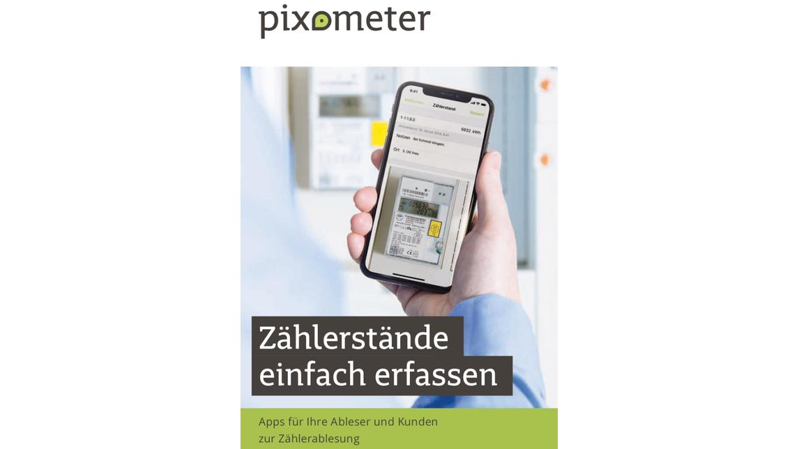 Logo pixometer Smartphone Metering